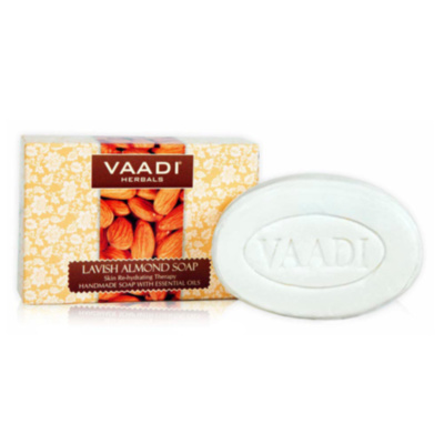МЫЛО РОСКОШНЫЙ МИНДАЛЬ (Lavish Almond Soap Skin Rehydrating Therapy) Vaadi Herbals, 75 г